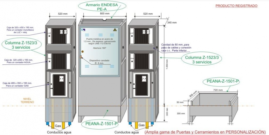 NA05062 Columna Z-1523 _3 Vista Prespectiva