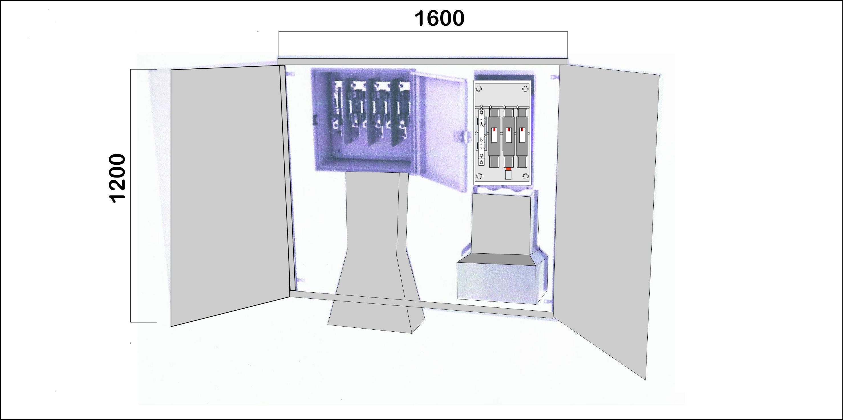 Na02062 puertas met licas para empotrar en pared nichos for Oficina fecsa endesa